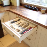 Inset cultery drawer